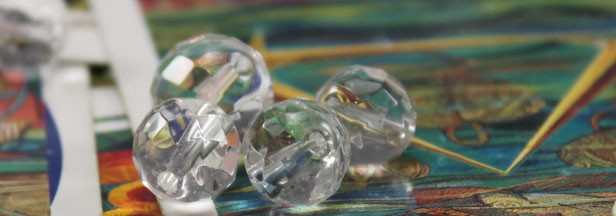 カッティング水晶 その2:キラキラ多面体,ミラーボールはパワーも倍増?
